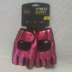 FLO 360 Fitness Gloves Pink Size XLarge